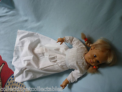 Vintage Childs Or  Dolls Gown
