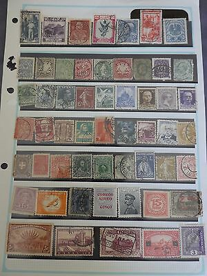 Older collection of 55 World stamps
