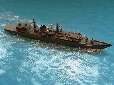 "1/1200 scale model ship,  HMS. ""Cumberland"", by,See Vee ? (RESIN)."