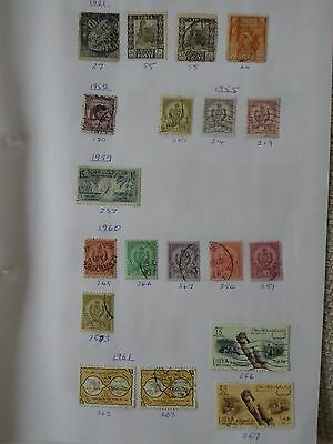 Libya collection of 34 stamps