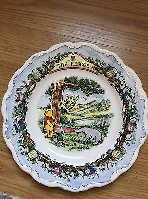 Royal Doulton Winnie the Pooh Plate The Rescue