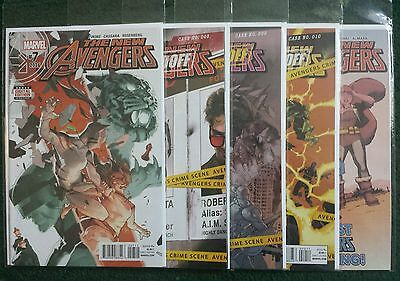 The New Avengers 7, 8, 9, 10, 11 - NM