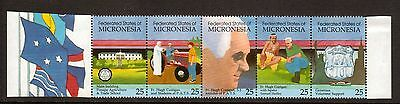 Micronesia:1990:Pohnpei Agriculture & Trade School,Set in Strip.MNH.