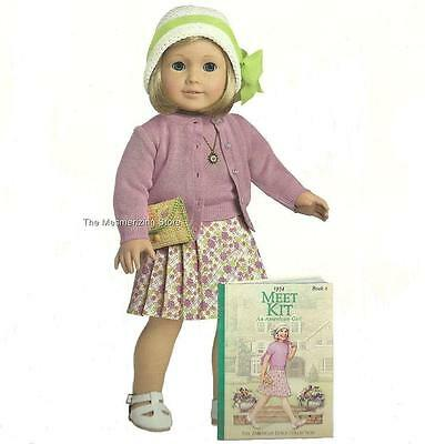 Pleasant Co. American Girl KIT DOLL, ACCESSORIES & MEET BOOK 1st Version in Box