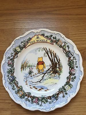 Royal Doulton Winnie The Pooh Plate The Woozle