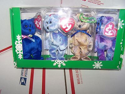 The Jingle  Beanies Collection Clubby Edition  4 Bear Beanie - MINT IN  BOX