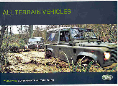 Land Rover Military Brochure 2004