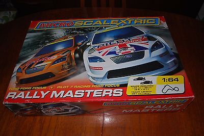 Micro Scalextric Rally Masters Set