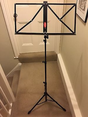 Stagg Metal Adjustable Foldable Music Sheet Stand