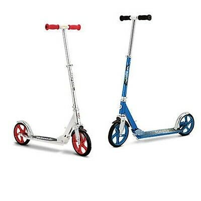 Razor A5 Lux Classic Red Adult and Kids easy commute kick/Push Scooter+ Stand