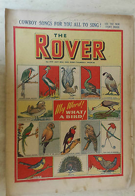 Comic-THE ROVER, No.1270, 29th October 1949- WHAT A BIRD