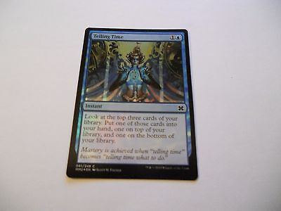 1x MTG FOIL Telling Time-Predire il Tempo Magic EDH MM2 Modern Masters ING x1