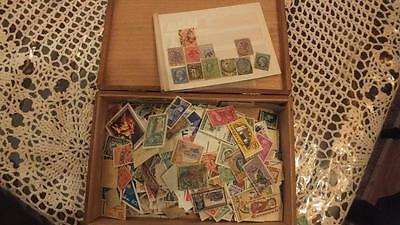Old Sigar Box Lots Off Stampsc  Commonwealth And World Nice One
