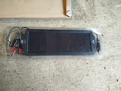 Solar Powered 12V 1.5W Battery Auto Trickle Charger Panel for Cars Caravans