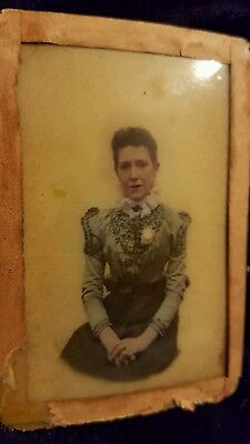 Antique  Photo Of A Lady