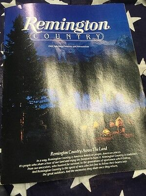 Vintage Hunting Shooting Advertising  Remington Sporting Firearms & Ammo 1986