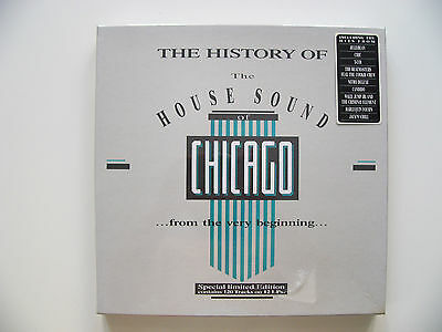 The History Of The House Sound Of Chicago+12 LP Box Limited Edition+SEALED+1988