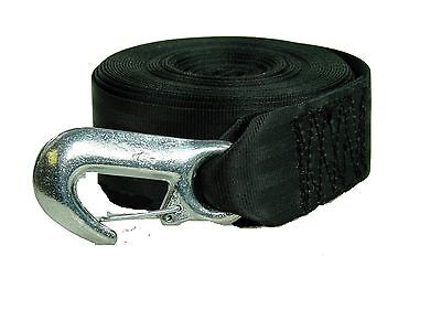 Winch Strap with Forged Snap Hook 50mm x 7m (23ft)-Breaking Strain 1500Kg- MP109