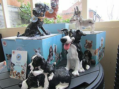 Job Lot Collection of Pets With Personality Ornaments, Donkey, Dogs, pony,etc