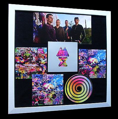 COLDPLAY+MYLO XYLOTO+LTD+GALLERY QUALITY FRAMED+EXPRESS GLOBAL SHIP+Not Signed