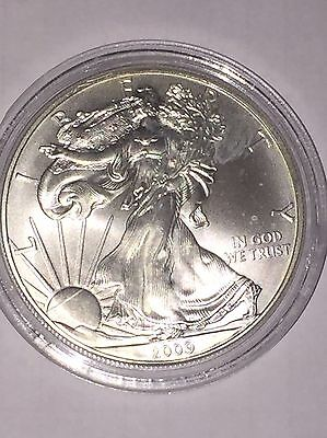 U.S.A. - 2009 SILVER EAGLE WALKING LIBERTY DOLLAR COIN  1oz 0.999 Bullion Silver