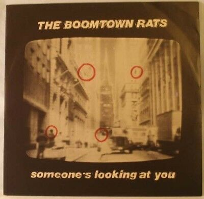 Boomtown Rats - Someone's Looking At You 12inch Single