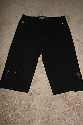 Ladies Jamie Sadock Black Golf Shorts  sz. 6