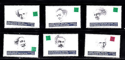 lot timbres neufs** serie personnages celebres 1993