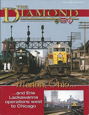 Diamond Marion,ohio,erie Lackawanna Operations West To Chicago