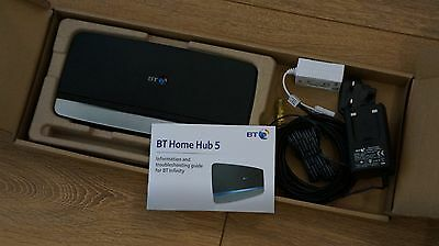 BT Home Hub 4 - ADSL Broadband Wireless Modem Router - Boxed with accessories