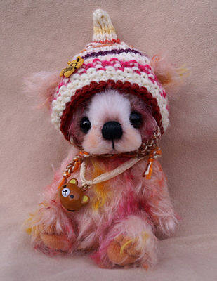 "A.S.Bears ""Tammi"" OOAK 5.5 inches Small Artist Bear"