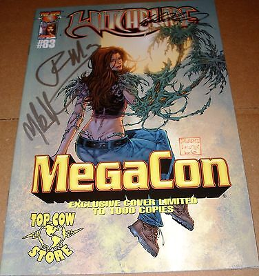 Witchblade #83 MegaCon Variant SIGNED Tyler Kirkham Mike Choi Ron Marz Top Cow