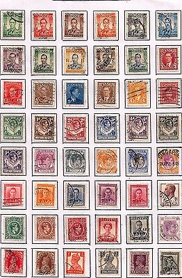 Commonwealth- Gvi Selection Of Fine Used Stamps From Many Countries.very Nice Lo