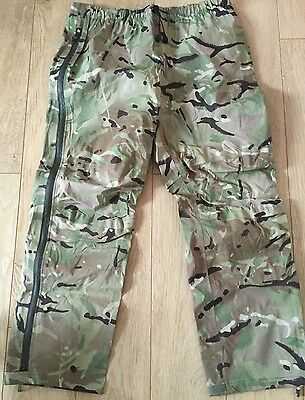 British Army issue MTP goretex waterproof trousers New Large