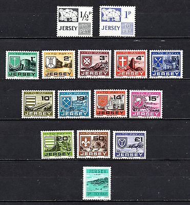 Jersey to pay/post due unmounted mint ,stamps as per scan(2223)
