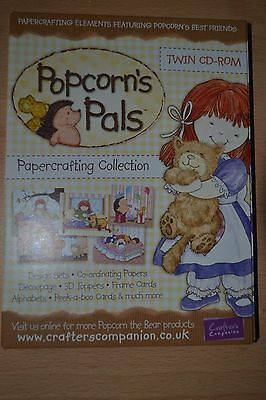 Crafters Companion Popcorn's Pals, Twin Crafting Cd Rom