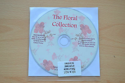 Floral Collection Crafting Cd Rom