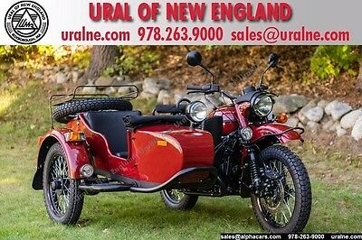 2016 Ural Gear Up 2WD Maroon Custom  Custom Accessories LED Upgrades Custom Color Rare Financing & Trades