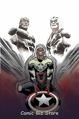 Captain America Sam Wilson #18 (2017) 1St Printing Bagged & Boarded