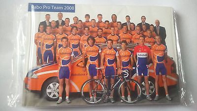 cyclisme cp team RABOBANK 2008 complet