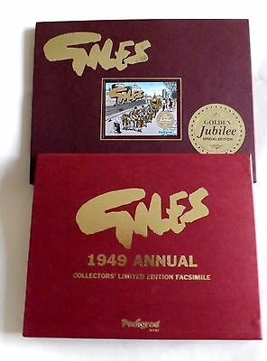 "Giles   1949  Annual  +  ""  Special  Edition Golden Jubliee ""  Facsimile   New"