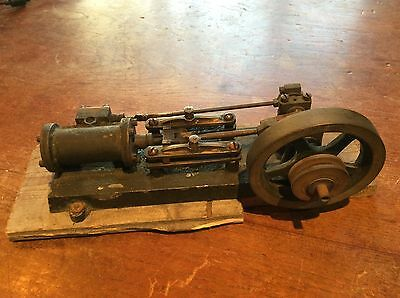 Antique Model Live Steam Mill Engine Stuart Horizontal Attic Find Good Condition