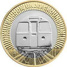 Rare £2 Coin Two Pound Collectable London Underground Tube Train 2013