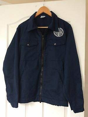 """* Rare Vintage Authentic PAN AM AIRLINES Ground Crew Jacket size 44"""" or 112cm *"""