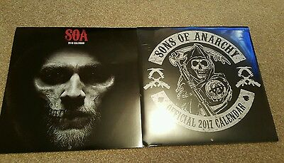 sons of anarchy 2016 and 17 calendars