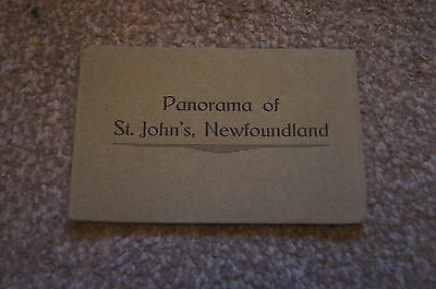 6 Rare Vintage Early Postcards Panorama Of ST JOHN'S NEWFOUNDLAND Canada Pack