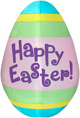 5.5' Tall Happy Easter Egg Airblown Inflatable by Gemmy
