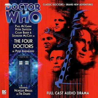 Dr Doctor Who The Four 4 Doctors Cd Audio Story Drama New Sealedmint Big Finish