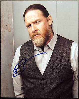 Autogramm 20x25cm DONAL LOGUE (Sons of Anarchy, Vikings) *handsigniert* COA
