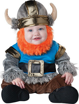 Costume Carnevale Bambino  Lil' Viking 0-24M Baby Carnival Costume Lil' Viking